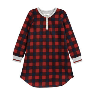 Girls' [4-7] Buffalo Plaid Nightgown
