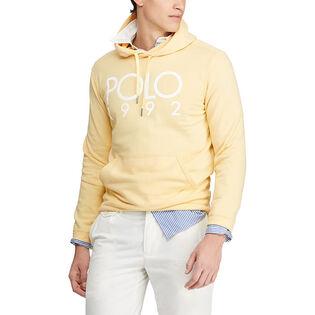 Men's Cotton-Blend Graphic Hoodie