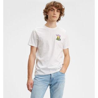 T-shirt à motif pour hommes