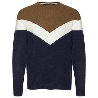 Men's Chevron Crew Sweater
