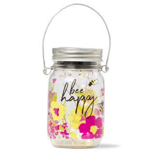 Bee Happy Solar Jar