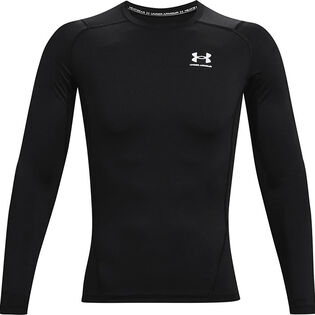 Men's HeatGear® Armour Long Sleeve Compression Top