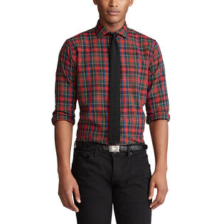 Men's Classic Fit Plaid Shirt