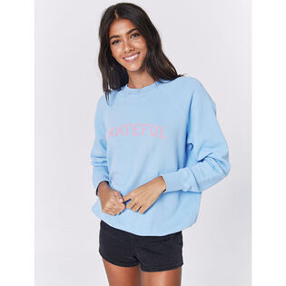 Women's Grateful Classic Crew Sweatshirt