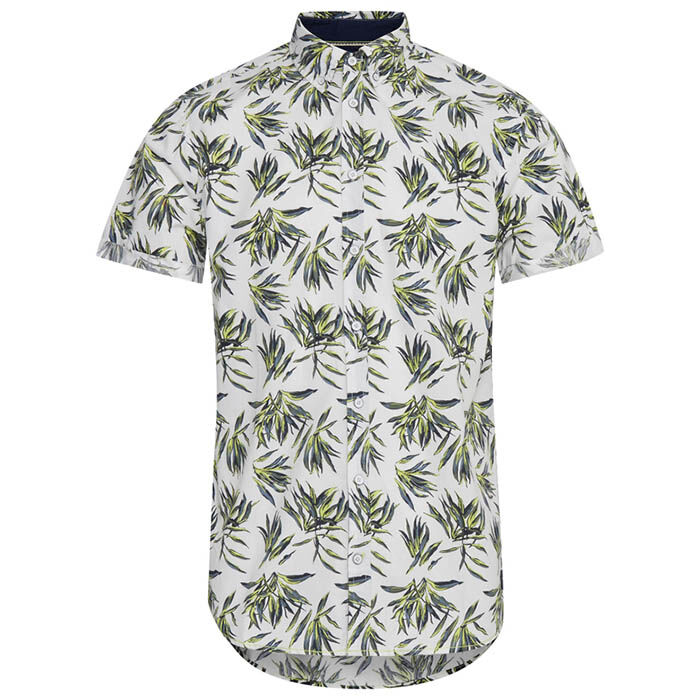 Chemise Palms à coupe ajustée pour hommes