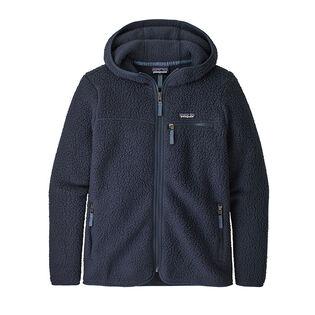 Women's Retro Pile Fleece Hoody Jacket
