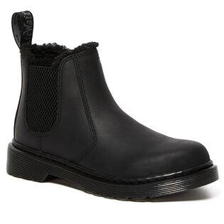 Juniors' [11-4] 2976 Faux Fur-Lined Chelsea Boot