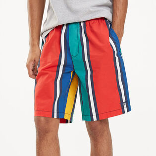 Men's Stripe Basketball Short