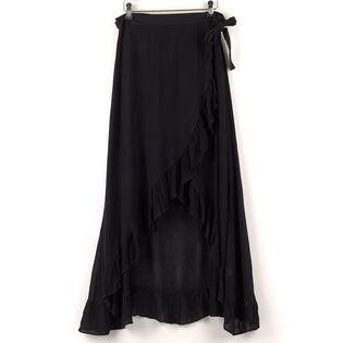 Women's Ruffle Wrap Skirt