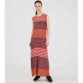 Women's Linen Maxi Dress