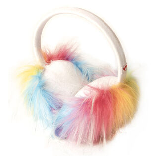 Girls' [2-10] Rainbow Earmuff