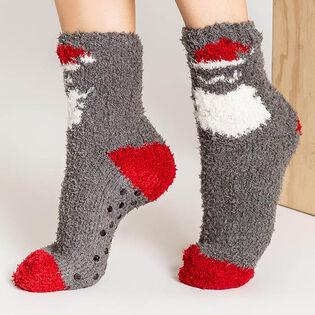 Women's Santa Sock