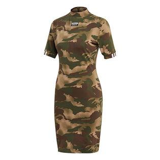 Robe t-shirt imprimée pour femmes