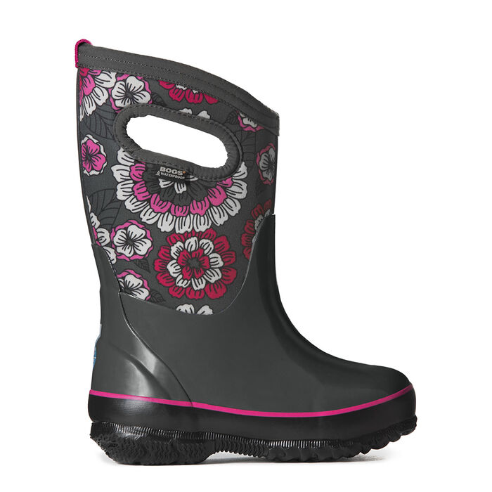 Juniors' [13-6] Classic Pansies Insulated Boot