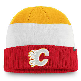 Men's Calgary Flames Iconic Cuffed Knit Beanie