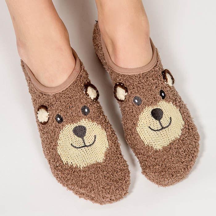 Chaussettes Cozy Bear pour femmes