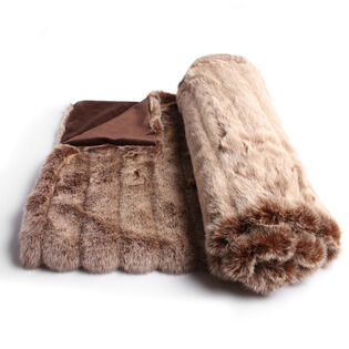 Faux Fur Throw