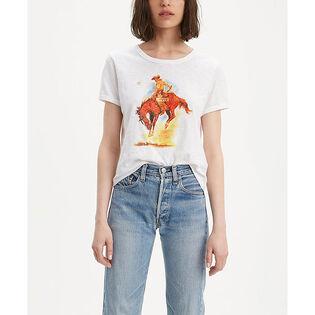 Women's Cowboy Graphic T-Shirt