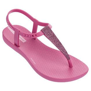 Juniors' [10-4] Shimmer Sandal