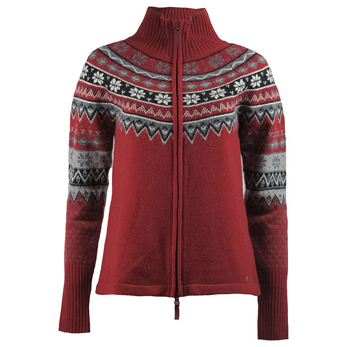 Women's Scandinavian Zip Sweater