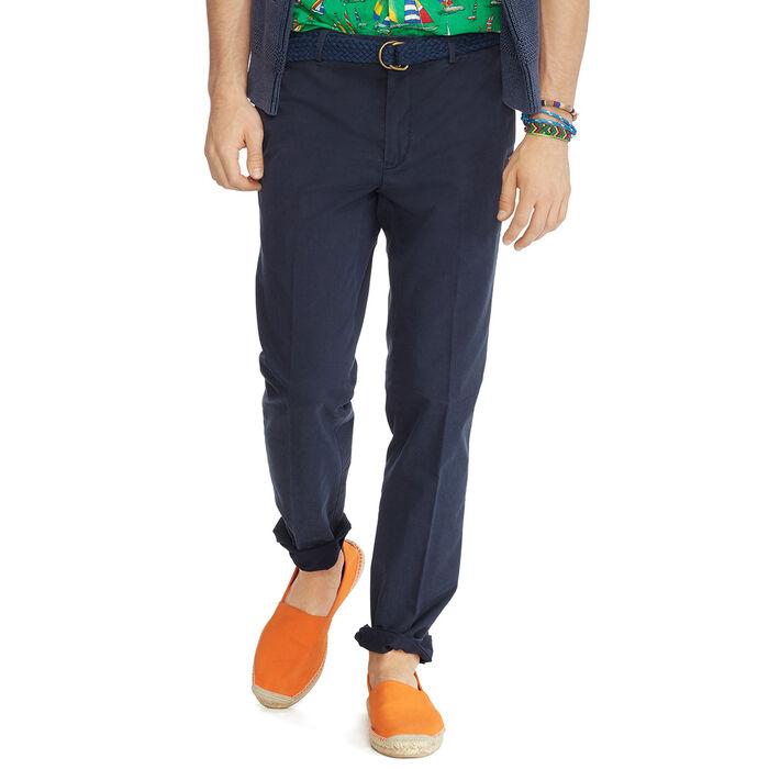 Pantalon Chino extensible à coupe étroite pour hommes