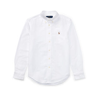 Junior Boys' [8-20] Cotton Oxford Sport Shirt