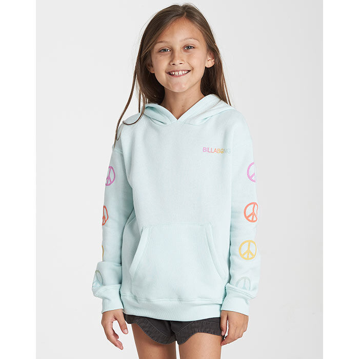 Junior Girls' [7-14] Peace Love And Waves Hoodie