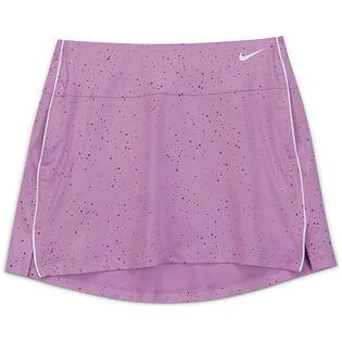 Junior Girls' [7-16] Dri-FIT® Printed Golf Skirt