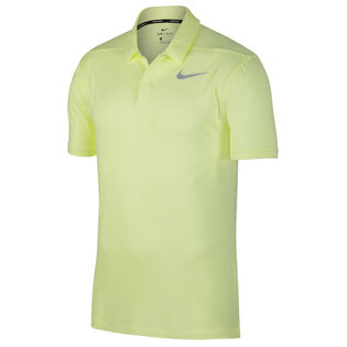 Men's Control Stripe Golf Polo