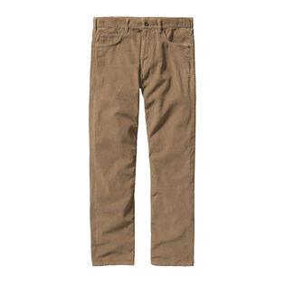 Pantalon en velours côtelé à coupe droite pour hommes