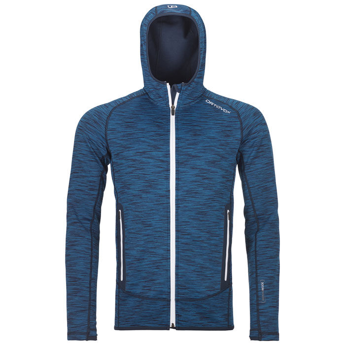 Men's Fleece Space Dyed Hoody Jacket