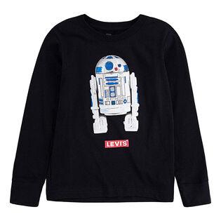 Chandail à manches longues Star Wars™ R2D2 pour garçons [2-4T]