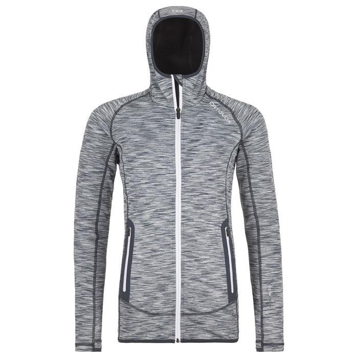 Women's Fleece Space Dyed Hoody Jacket