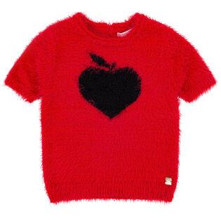 Chandail en tricot Apple pour filles [3-6]
