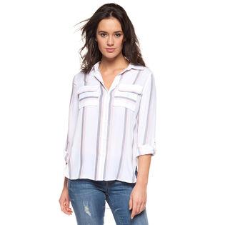 Women's Striped Pocket Shirt