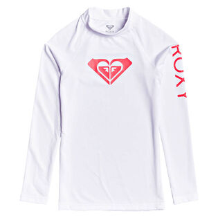 Junior Girls' [8-16] Whole Hearted Long Sleeve Rashguard