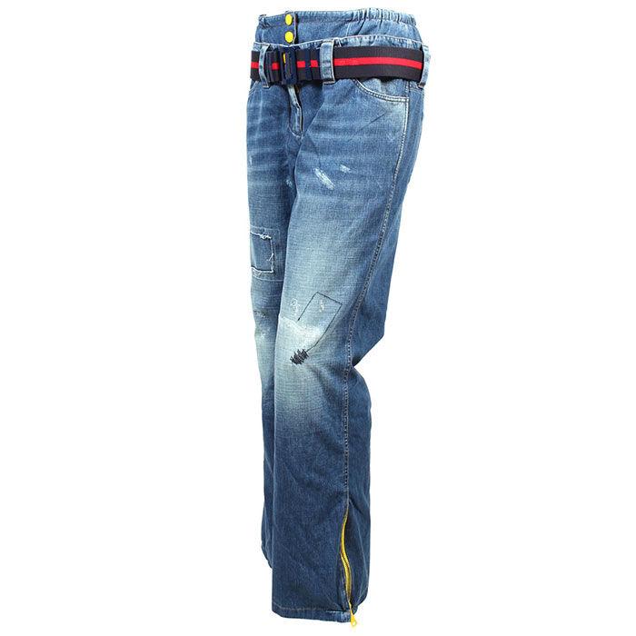 Pantalon en denim isolant pour femmes