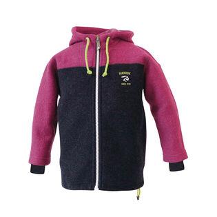 Girls' [4-10] Block Wool Jacket
