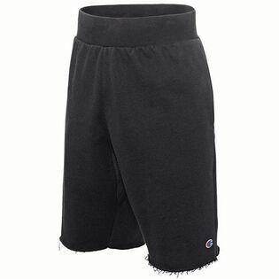 Men's Raw Edge Fleece Short