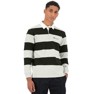 Men's Reverse Weave® Striped Rugby Shirt
