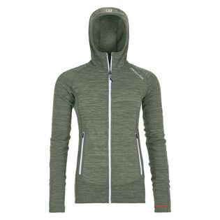 Women's Fleece Light Melange Hoody Jacket