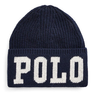 Junior Boys' [8-20] Polo Intarsia Wool-Blend Hat