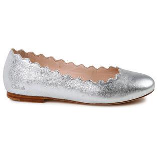 Juniors' [1-4] Lauren Ballerina Flat