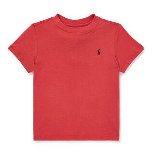 Boys' [2-4] Cotton Jersey Crew Neck T-Shirt