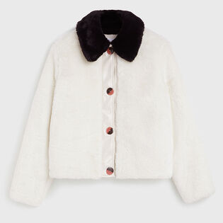 Women's Reversible Faux Fur Jacket
