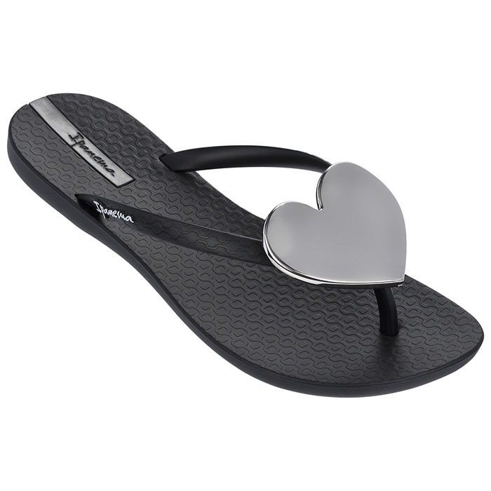 Women's Wave Heart Flip Flop Sandal