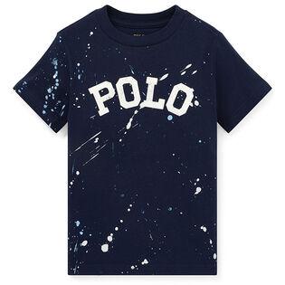 Boys' [2-4] Paint Splatter Cotton T-Shirt