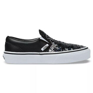 Kids' [11-3] Flipping Sequins Classic Slip-On Shoe