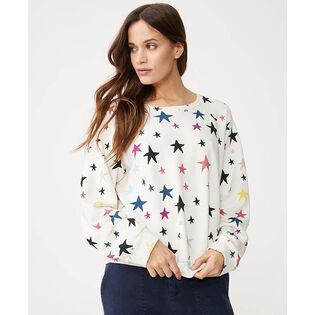 Women's Falling Stars Oversized Sweatshirt