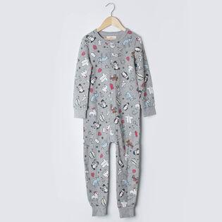 Kids' [3-10] Arborist Holiday Sick Kids One-Piece Pajama